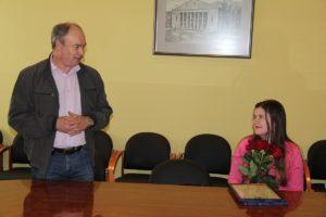 Екатерине Макушиной вручена Исаевская премия