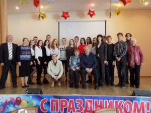 Теплая зимняя встреча писателей и школьников