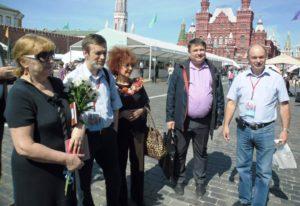 Воронежцы на книжном фестивале «Красная площадь»