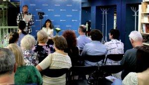 Алёна Даль встретилась с читателями