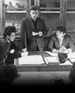 Студенты Анатолий Винников, Арсен Синюк, Анатолий Пряхин